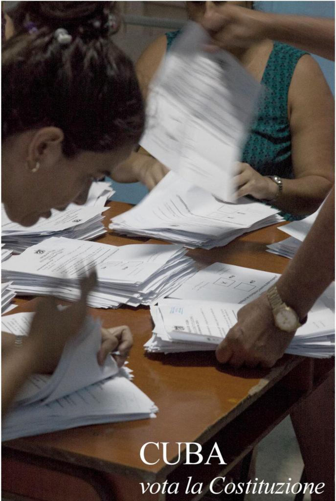 Cuba vota la costituzione